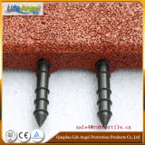 En1177 Certified Safety Rubber Floor Tiles / Roof Deck Choise Rubber Floor