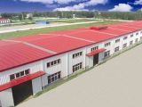 Stahlkonstruktion-Normierung-Werkstatt (KXD-SSW132)