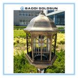 ألومنيوم مادّيّة [هي بريغتنسّ] شمعيّة حديقة ضوء مع عمل إلى ناموسة قابلة مصباح