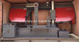 Double horizontal Column Band Saw con Good Saw Blade