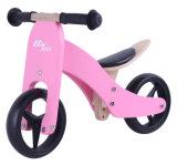 '' bicicleta de madeira 2 do balanço 7 em 1 cor-de-rosa