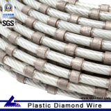 Static Wire Saw에 Stone Block Cutting를 위한 철사