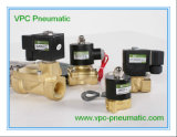 2W Series Small Oriffice Brass Solenoid Valve 2 Way Solenoid Valve