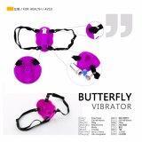 De Vibrator van de vlinder bevordert het MiniStuk speelgoed van het Punt van G Gemakkelijk om met u te houden op om het even welk ogenblik overal