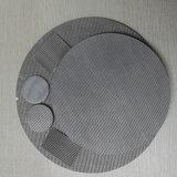 Único ou multi disco do filtro de engranzamento do fio do aço inoxidável das camadas