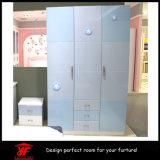 De mooie Slaapkamer van het Meubilair van het Ontwerp van de Garderobe van de Kleur van het Meubilair van de Slaapkamer van Kinderen Dubbele