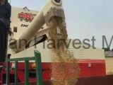 밀 콩 결합 수확기 기계