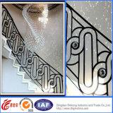 Barandillas de acero sucintas europeas decorativas/pasamanos del hierro labrado