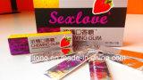 Saveur de fruits Sex Laue Chewing Gum Sexualité éveilleur