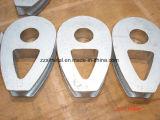 Triângulo contínuo pesado do dedal DIN3091 que reduz o furo