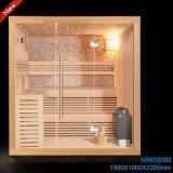 2015 de Nieuwe Draagbare Luxueuze Infrarode Sauna van het Ontwerp voor Persoon 3 (SR1D002)