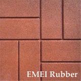 De RubberTegel van de Oppervlakte van de Baksteen van de kleur voor Tuin met En1177