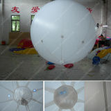 PVC bianco Helium Balloon con il LED Lamp Ball