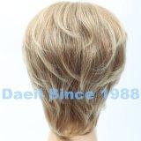 Colore ondulato di multiplo della parrucca di Short dei capelli di Syntheitc
