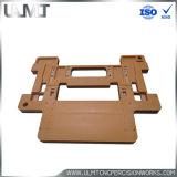 カスタマイズされたクリッパーの据え付け品の金属CNCの精密な作業