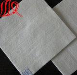 Tela no tejida no tejida del geotextil de la fibra corta del animal doméstico