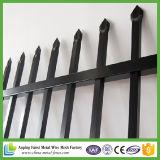 Projeto tubular de aço da cerca e da porta da alta segurança para a jarda