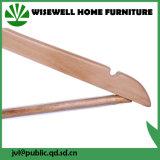 Ganchos de madeira da lavanderia com ombro entalhado (WHG-A09)
