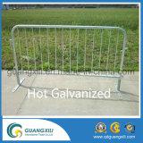 Barrera galvanizada sumergida caliente del control de muchedumbre del tráfico del metal