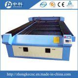 Größen-Laser-Ausschnitt-Maschine der Fuss-4*8 grössere mit CO2 Laser-Gefäß