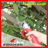 Koham lavora le cesoie di potatura della batteria dello Li-ione di taglio dei rami della quercia