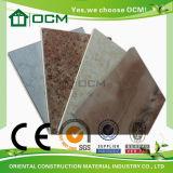 Tarjetas decorativas laminadas de alta presión de la melamina material