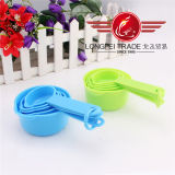 5 PCS Colored Plastic Measuring Cup e Spoon Set