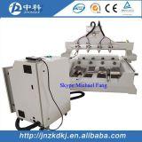 Multi máquina do CNC das cabeças dos eixos 4 com giratório