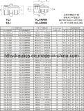 1cj/1DJ Metirc Mann 24 Grad Kegel/Jic 74 Grad-Kegel, der hydraulischen Adapter von der hydraulischen Fabrik dichtet
