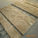 Mármore de pedra natural de mármore bege claro de Emperador para escadas