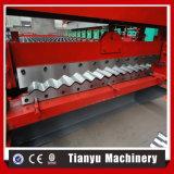 Das gewölbte Metalldach-Stahlblatt färben, das Maschine herstellt