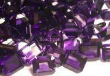 Gemstone frouxo Amethyst Hydrothermal da forma do Octagon
