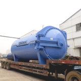 autoclave de borracha certificada ASME de Vulcanizating do aquecimento de vapor de 3000X8000mm (SN-LHGR30)