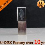 Movimentação de cristal do flash do USB da gema desobstruída quente (YT-3270)