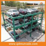 De hydraulische Verticale Geautomatiseerde Systemen Op verscheidene niveaus van het Parkeren van de Auto van het Raadsel