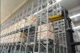 Elevada precisão e Manpower Saving Shuttle Pallet Racking
