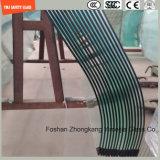el claro y el modelo de la seguridad de 4-19m m planos/doblaron el vidrio Tempered/endurecido para la cerca, puerta, ducha, partición, configuración con SGCC, Ce, ISO, certificado del CCC