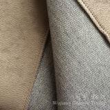 Tissu micro en cuir de suède de polyester pour des Slipcovers