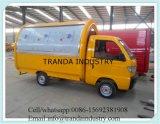 電気アイスクリームの移動式食糧バスまたはコーヒー食糧販売の食糧バン