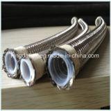 Boyau flexible du produit chimique SAE 100r14/Teflon de la température