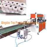 Machine à emballer de tissu de toilette de Rolls du papier de toilette 12