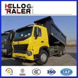 6X4 Left Hand Driving 371HP HOWO Tipper Dump Truck