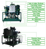 Petróleo de motor usado Physcial puro da condição nova de Kxz que recicl o purificador de petróleo