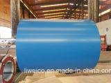 PPGIのコイルはGIのコイルのカラーによって塗られた鋼鉄コイルをPrepainted