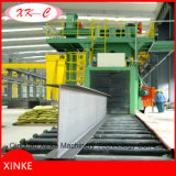 Smartline Roller Conveyor Shot Blast Machine / Wheelblasitng Machine