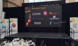 Disegno di schermo flessibile del LED per Autoshow-Galaxias P4