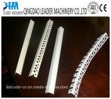 Perfil do grânulo de canto do PVC que faz a PVC da máquina a planta pequena do perfil