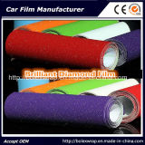 I colori scelgono l'automobile brillante del diamante nero di scintillio della pellicola del diamante che sposta la pellicola del vinile del PVC