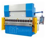 Dobladora plegable plateada de metal hidráulica, CNC/máquina del freno de la prensa del Nc
