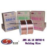 Er70s-6溶接ワイヤGB/T Er50-6/DIN Sg2/JIS Ygw12/Bs A18/En G3si1 (AWS A5.18 ER70S-6)